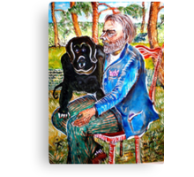 Homeless Fernand and Company Canvas Print