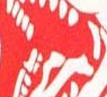 Red Ranger Emblem Sticker