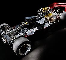 1974 Lola T332  F5000 Race Car Chassis by Frank Kletschkus