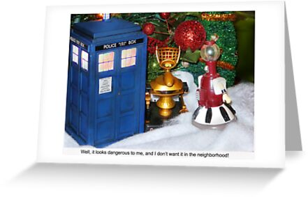 Merry Christmas from the World of Sci Fi! by Nadya Johnson