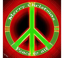Peace to All Photographic Print
