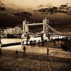 Southbank London Digital art by DavidHornchurch