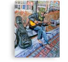 Guitar Man Canvas Print