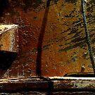 Sète - Rusty boat. by Jean-Luc Rollier