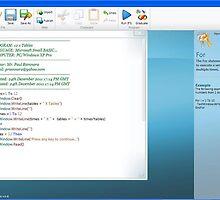 241211 - Microsoft Small BASIC Program printscreen by paulramnora