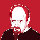Louis C.K. iPhone Case by Tom Trager