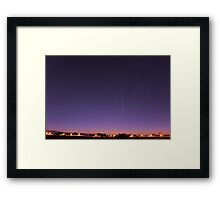 Comet Lovejoy  Framed Print