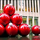 Christmas Balls in New York by Catherine White Photography
