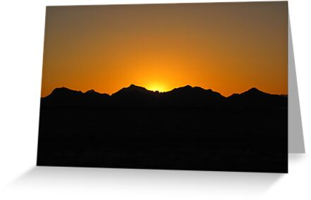 Arizona Sunset ~4 by Kimberly Chadwick