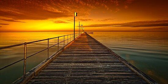 Frankston Pier - Orange by hangingpixels