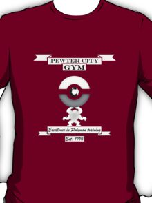Pewter City Gym T-Shirt