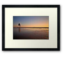Sunset At The Beach, Dovercourt: 3 Framed Print