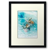 The Teacup Racers Framed Print