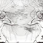Hide&Seek/ Print by Amit Grubstein by AmitArt