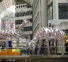 December 24, 2011 Inside the Toronto Eaton Center by MarianBendeth