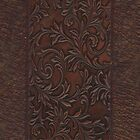 Leather Embossed Floral by goodedesign