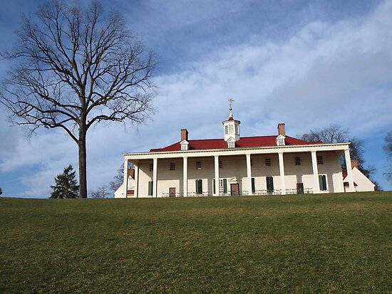 Mount vernon george washington 39 s plantation va by bine for George washington plantation