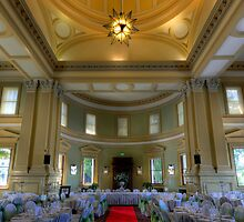 The Long Room • Customs House • Brisbane by William Bullimore