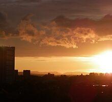 Sunny Glasgow by JimMrBob