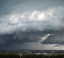 Christmas Day Stormfront from Mt Ridley by Hicksy