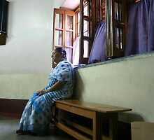 Praying For Hope, Sisters Of Mercy, Kolkata by Morris Lieberman