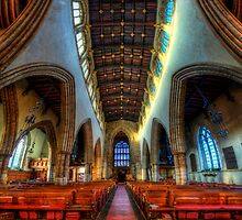 Loughborough Parish Church Nave by Yhun Suarez