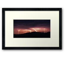 Neerim South - Severe Storms  Framed Print