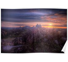 Beacon Hill Sunrise 4.0 Poster