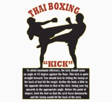 Thai Boxing by mrtdoank