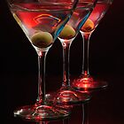 Red hot Martinis by woodnimages