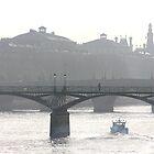 bridge over the river seine by kchamula