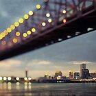 New Orleans Skyline from West Bank by Alfonso Bresciani