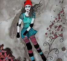 Roller Girl by LisaMM