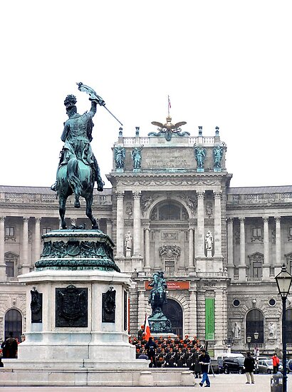 cadets at the hofburg by kchamula