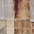 Wool Shed Wall, Oakbank, South Australia by Stephen Mitchell