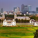 Greenwich View Pano by John Hare