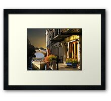 (◡‿◡✿) (◕‿◕✿) Lovers Stroll In Venice Card / Picture  (◡‿◡✿) (◕‿◕✿) Framed Print