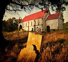 St Johns Anglican Church, Franklin, Tasmania #2 by Chris Cobern