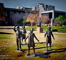 Tribute to the School Children of Texas - Austin State Capitol by Jack McCabe