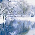 Reflections Of Winter by Romanovna Fine Art Prints