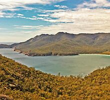Wineglass Bay Panorama by TonyCrehan