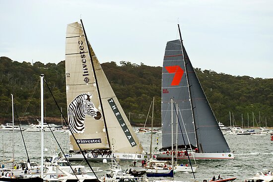 Investec Loyal & Wild Oats | Sydney to Hobart | 2011 by Bill Fonseca