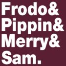 Frodo&Merry&Pippin&Sam. by nimbusnought