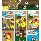 "Rick the chick  ""THE MAGIC SHELL (Cucciolo il postino) parte 10"" by CLAUDIO COSTA"