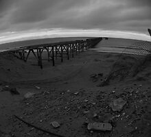 Abandoned chemical plant beach by Sarah Horsman