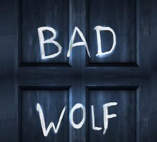 Bad Wolf Graffiti Case by jastrul