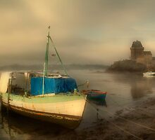 Misty Saint Servan by Ann Garrett
