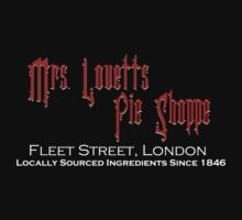Mrs. Lovett's Pie Shoppe (Red/White) by Anglofile