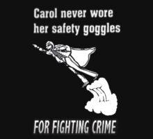 Carol Was a SuperHero by twistedpainter