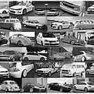 VW collage by Benjamin Whealing
